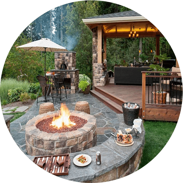 Outdoor Fire Pit Builder Houston Fire Pit For Every