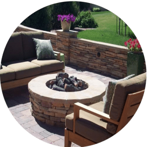 custom-outdoor-fire-pit-with-wood-power source houston
