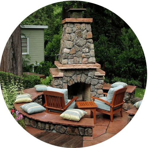 Custom Fireplace Builder Houston Stone Fireplace Contractor Houston
