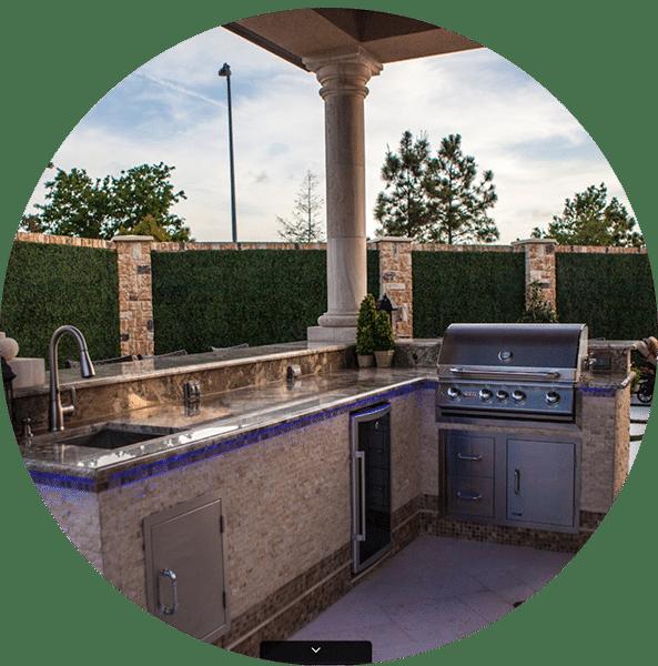 New Orleans Outdoor Kitchens Contractor: Outdoor Living Contractor Houston