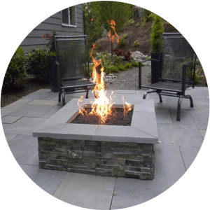 affordable-square-stone-outdoor-fire-pit-houston