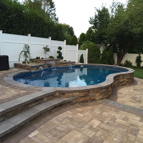 Inground pool design inspiration gallery outdoor you for Pool design hours