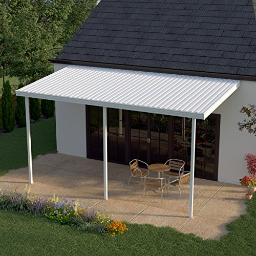 White aluminium patio cover installer houston