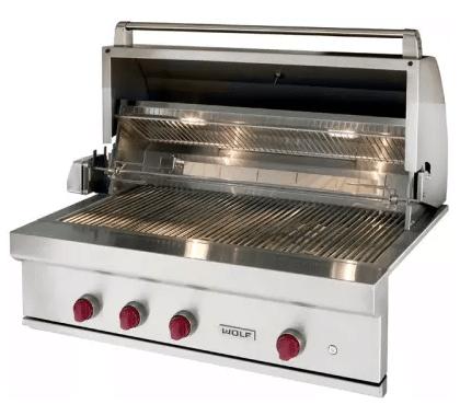 outdoor kitchen Wolf-Grill